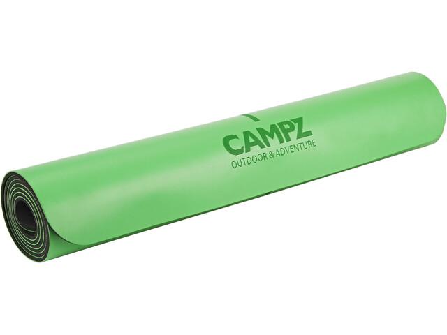 CAMPZ PU Position Line Esterilla de yoga M, green